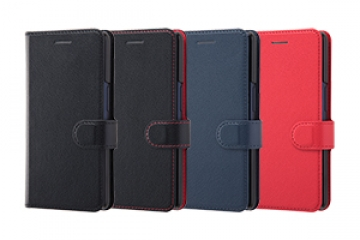 【au Qua phone QZ/UQ mobile DIGNO® A】手帳型ケース シンプル マグネット