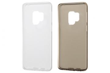 【Galaxy S9】TPUソフトケース コネクタキャップ付き