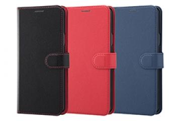 【Galaxy S9+】手帳型ケース シンプル マグネット