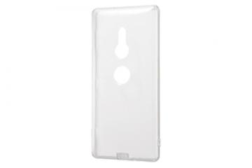 【Xperia™ XZ2】TPUソフトケース コネクタキャップ付き