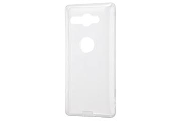 【Xperia™ XZ2 Compact】TPUソフトケース コネクタキャップ付き