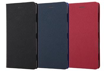 【Xperia™ XZ2 Premium】手帳型ケース マグネットタイプ