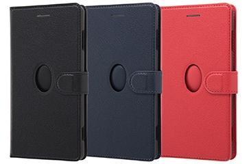 【Xperia™ XZ2 Premium】手帳型ケース マグネット マルチウィンドウ