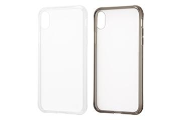 【Apple iPhone XR】ハイブリッドガラスケース 強化ガラス