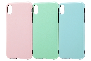 【Apple iPhone XR】TPUソフトケース 耐衝撃Light Pastel