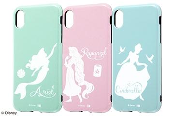 【Apple iPhone XR】『ディズニーキャラクター』/TPUソフトケース 耐衝撃Light Pastel