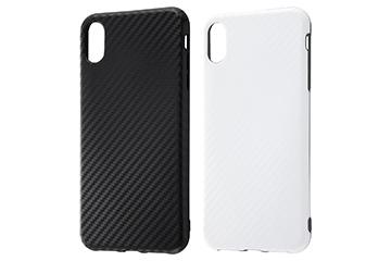 【Apple iPhone XS Max】TPUソフトケース 耐衝撃Light Carbon