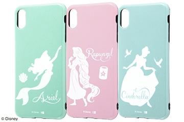 【Apple iPhone XS Max】『ディズニーキャラクター』/TPUソフトケース 耐衝撃Light Pastel