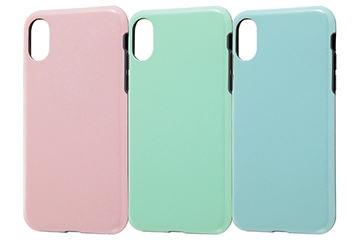 【Apple iPhone XS / iPhone X】TPUソフトケース 耐衝撃Light Pastel