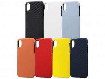 【Apple iPhone XS / iPhone X】TPUソフトケース 耐衝撃Light Carbon