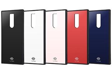 【Xperia 1】耐衝撃ガラスケース TETRA