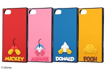 【iPod touch 第7世代(2019)/第6世代(2015)/第5世代(2014.2012)】『ディズニーキャラクター』/耐衝撃ハイブリッドケース シリコン KAKU