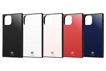 【Apple iPhone 11 Pro】耐衝撃ガラスケース TETRA