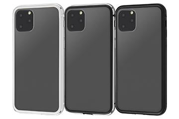 【Apple iPhone 11 Pro】アルミバンパー+背面パネル(マットブラック)