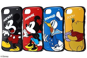 【Apple iPhone SE(第2世代)/iPhone 8/iPhone 7/iPhone 6s/iPhone 6】『ディズニーキャラクター』/耐衝撃ケース Curve