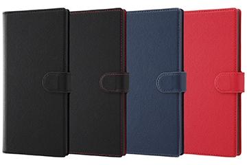 【Galaxy Note10+】手帳型ケース ソフトタイプ マグネット