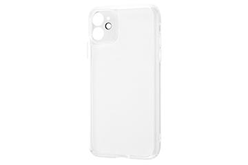 【Apple iPhone 11】ハイブリッドガラスケース 精密設計