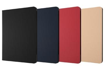 【iPad Pro 11inch 第3世代/ 第2世代 レザーケース スタンド機能付/ブラック】レザーケース スタンド機能付