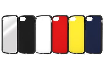 【Apple iPhone SE(第2世代)/iPhone 8/iPhone 7/iPhone 6s/iPhone 6】耐衝撃ハイブリッドケース Puffull