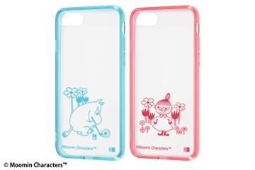 【Apple iPhone SE(第2世代)/iPhone 8/iPhone 7】『ムーミン』/ハイブリッドケース Charaful