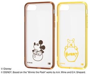 【Apple iPhone SE(第2世代)/iPhone 8/iPhone 7】『ディズニーキャラクター』/ハイブリッドケース Charaful