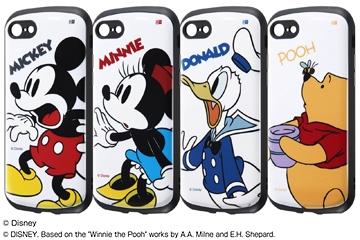 【Apple iPhone SE(第2世代)/iPhone 8/iPhone 7】『ディズニーキャラクター』/耐衝撃ケース ProCa