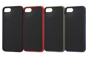 【Apple iPhone SE(第2世代)/iPhone 8/iPhone 7】耐衝撃マットハイブリッドケース Sarafit