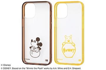 【iPhone 12 mini】『ディズニーキャラクター』/ハイブリッドケース Charaful