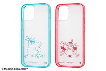 【iPhone 12 mini】『ムーミン』/ハイブリッドケース Charaful