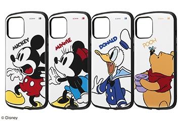 【iPhone 12 Pro Max】『ディズニーキャラクター』/耐衝撃ケース ProCa