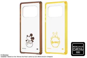 【AQUOS R6】『ディズニーキャラクター』/ハイブリッドケース Charaful
