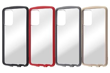 【Galaxy A52 5G】耐衝撃ハイブリッドケース Puffull