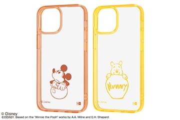 【iPhone 13 mini】『ディズニーキャラクター』/ハイブリッドケース Charaful