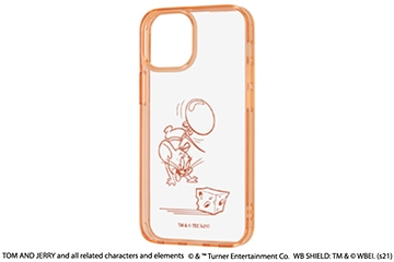 【iPhone 13 mini】『トムとジェリー』/ハイブリッドケース Charaful
