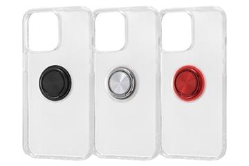 【iPhone 13 Pro】TPUソフトケース リング付