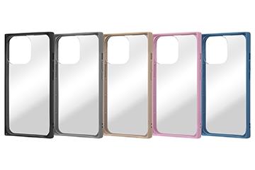 【iPhone 13 Pro】耐衝撃ハイブリッドケース Pufful 高硬度 スクエア