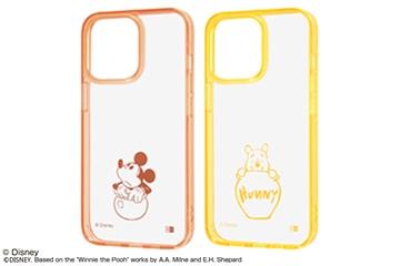 【iPhone 13 Pro】『ディズニーキャラクター』/ハイブリッドケース Charaful