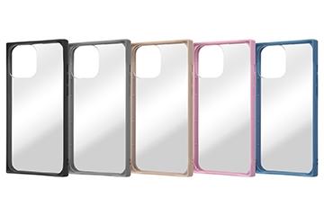 【iPhone 13 Pro Max】耐衝撃ハイブリッドケース Pufful 高硬度 スクエア