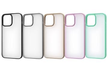 【iPhone 13 Pro Max】マットハイブリッドケース SHEER